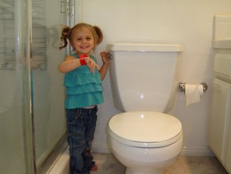 potty-training success :)
