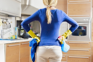 Clean kitchen for a healthy family