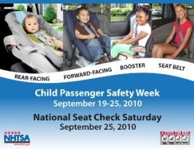 National Seat Check Saturday