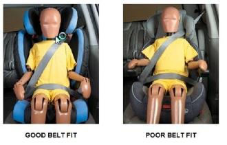 Seat belt fit