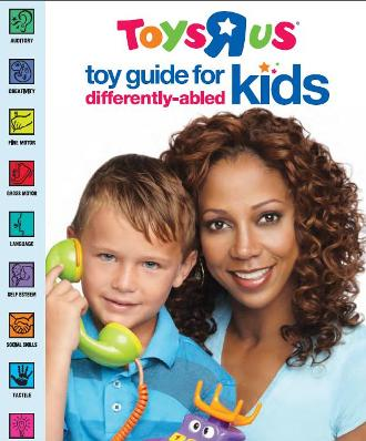 Differently abled toy guide