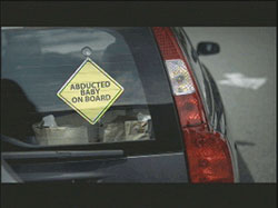 abducted baby on board