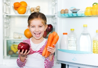 Teach healthy food choices