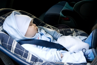 Car safety for new parents
