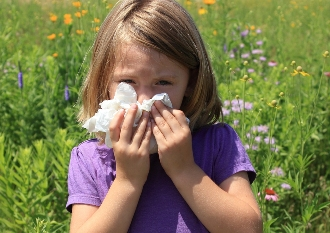 Hay-fever-in-children