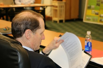 Senator Wyden meeting