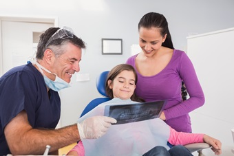 back to school child dental xrays