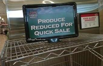 Produce Reduced sign2