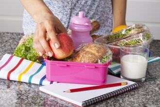 Making healthy packed lunches